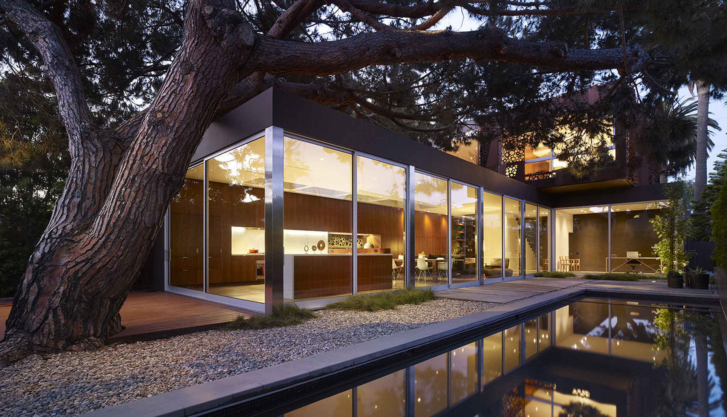 The Walnut House - Modal Design. 2010. Venice, CA.    More photos and an interview with architect Daniel Monti...