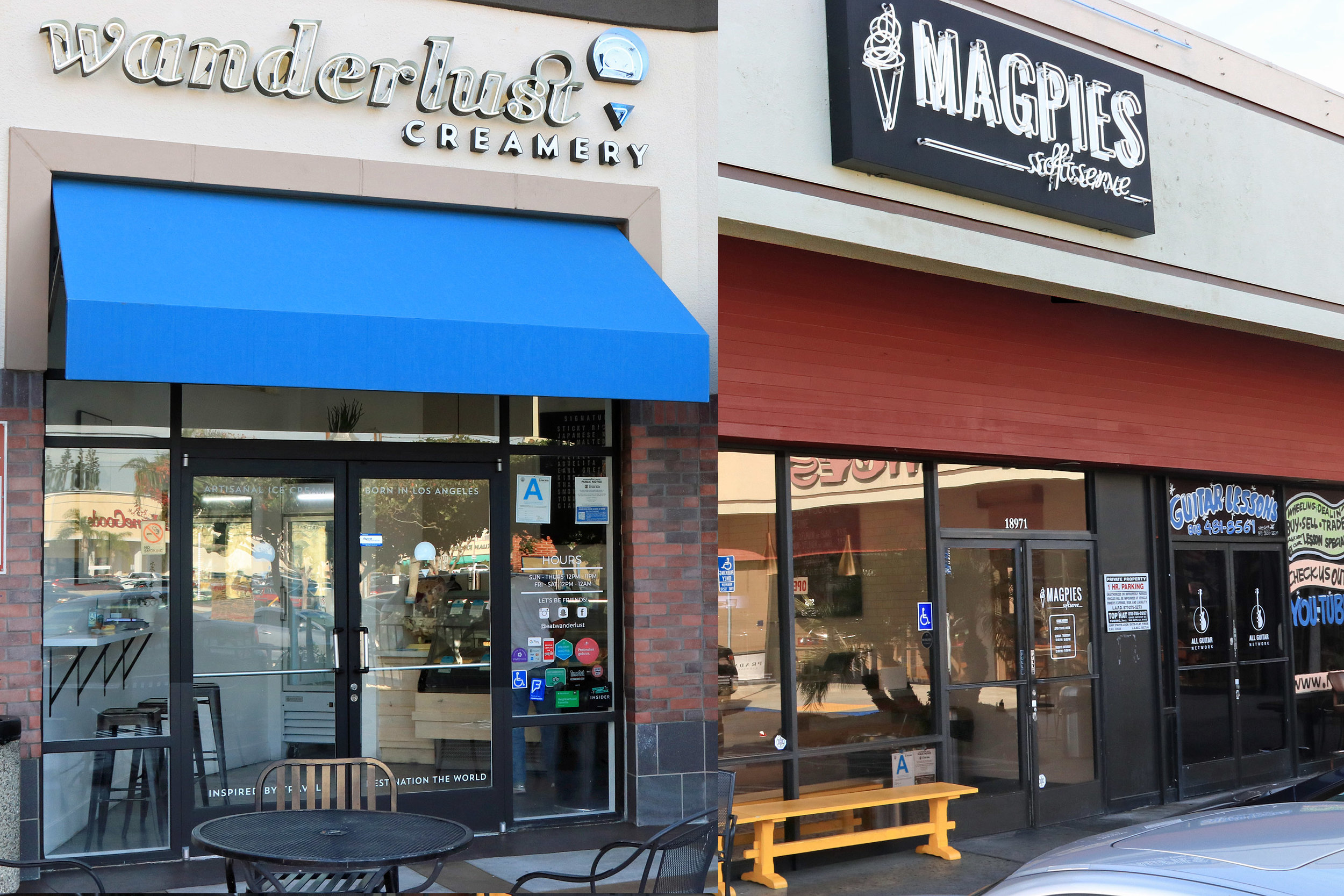 Wanderlust Creamery and Magpie's Softserve