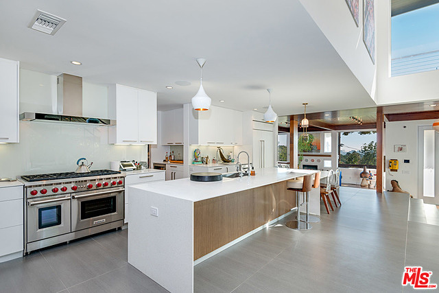The kitchen is ultra everything: spacious, elegant, clean, and functional.