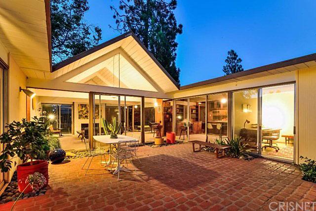 17013 Lisette St, Granada Hills, CA 91344 in Balboa Highlands development by Joseph Eichler