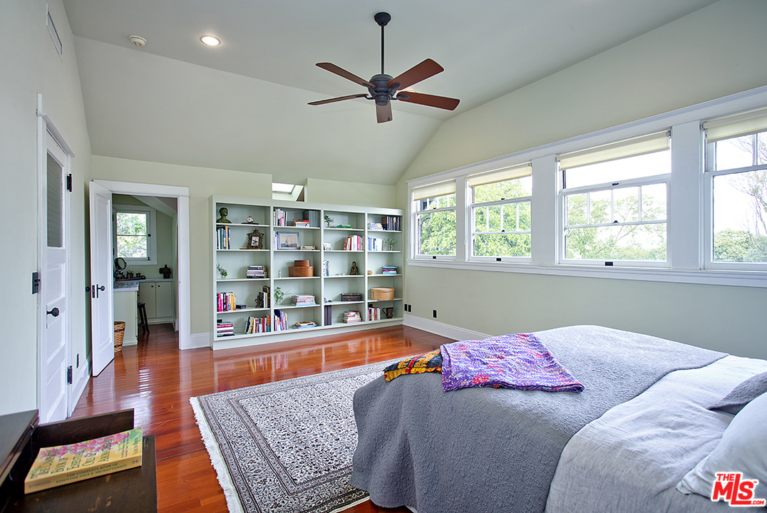 Vintage charm and natural light abound throughout the home.
