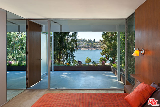 Another beautiful view of the reservoir, whether you're inside or out on the deck.