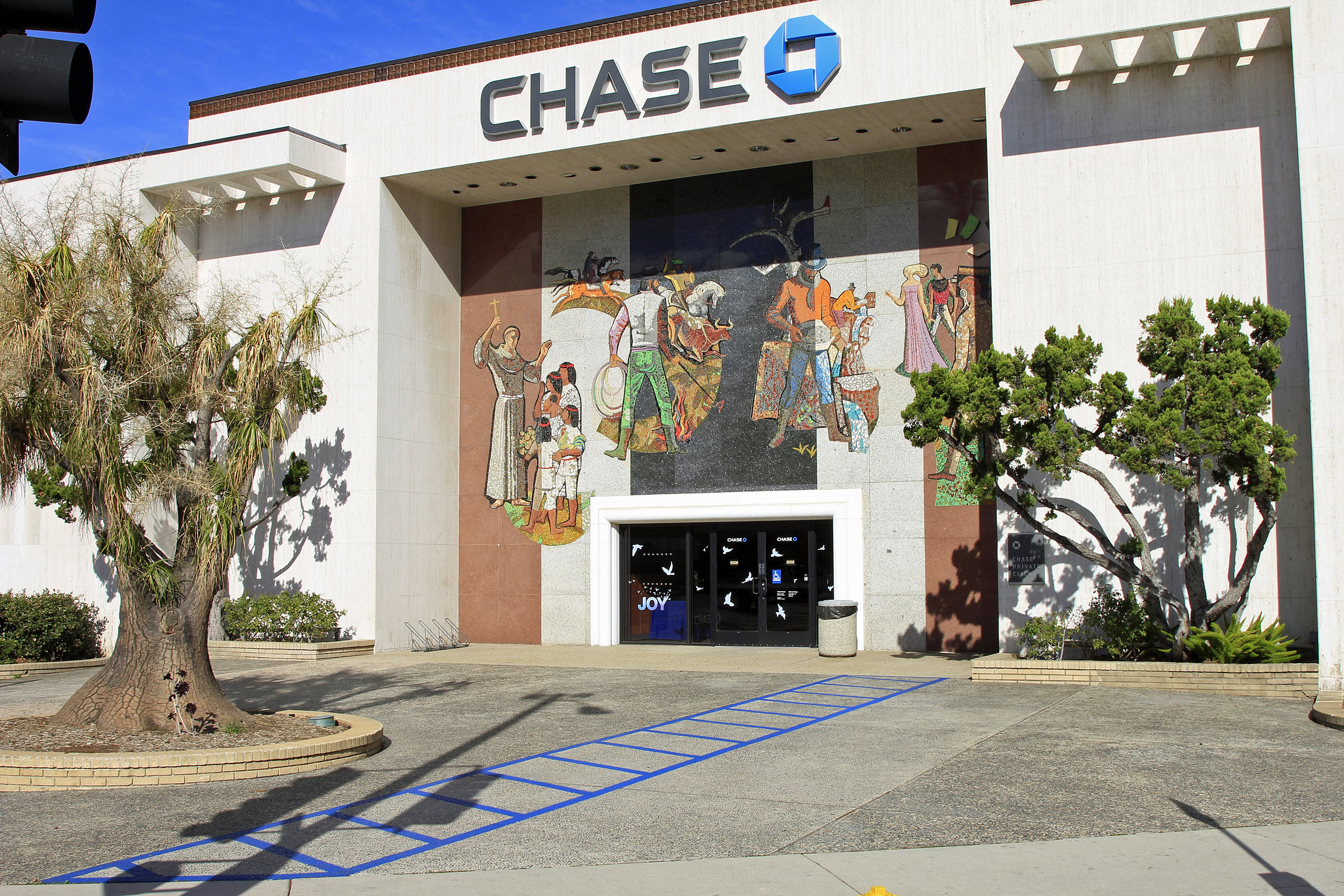 Chase Bank - Laurel Cyn & Ventura Blvd    1968   Millard Sheets