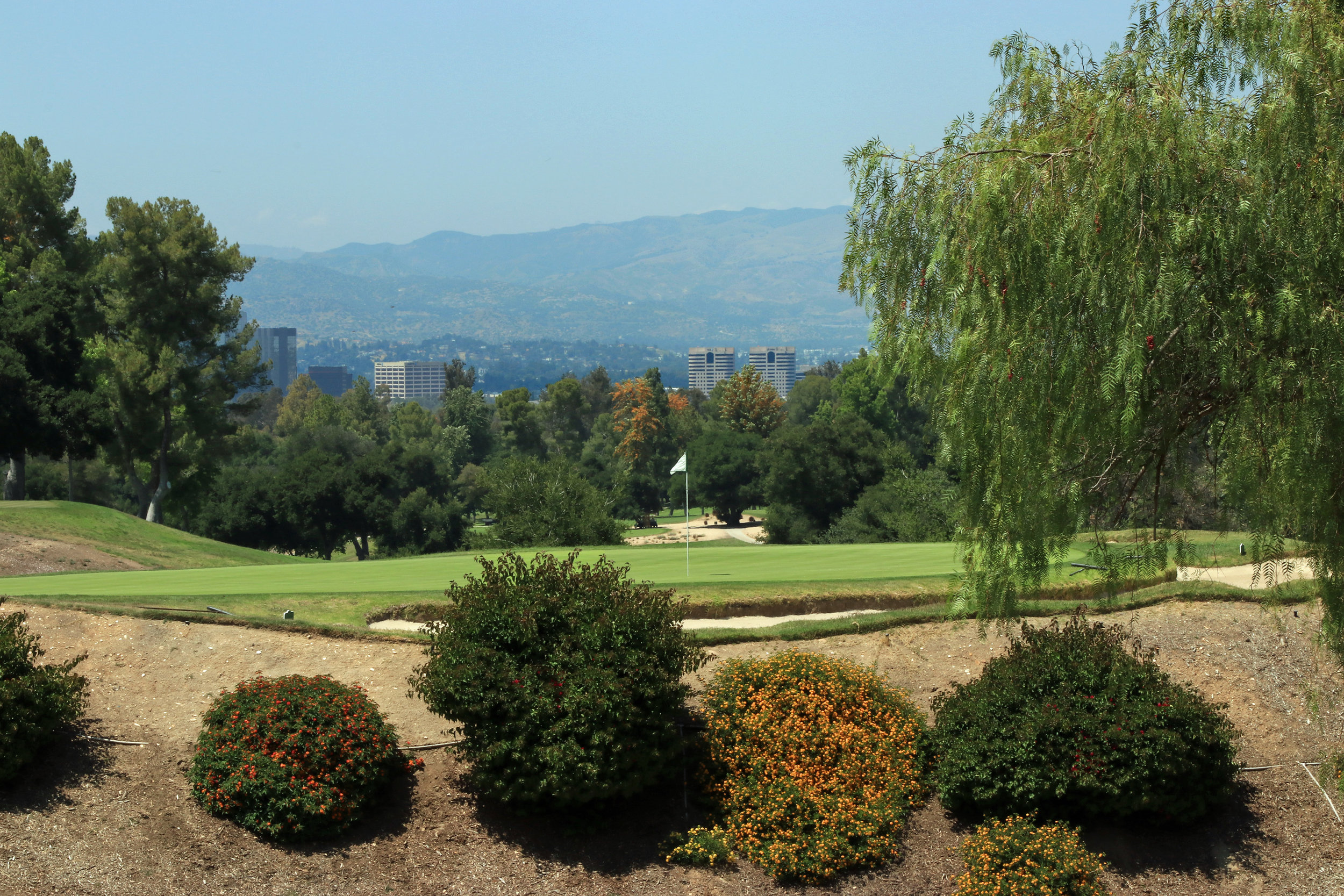 The 15th Green at Woodland Hills Country Club