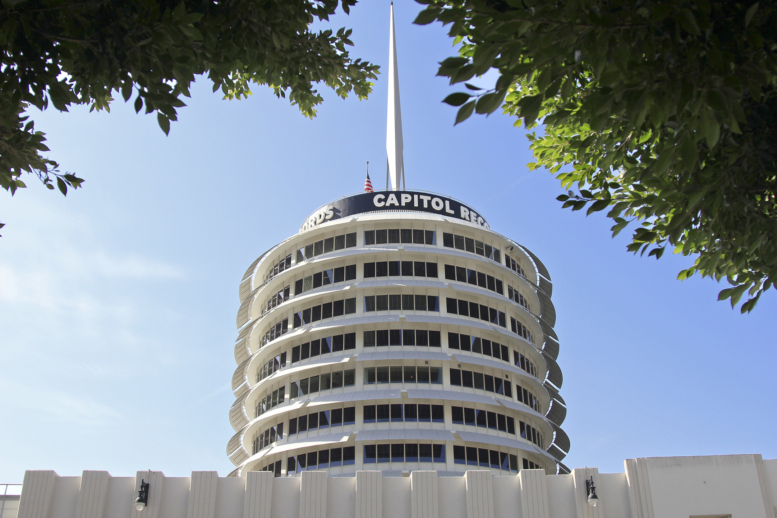Capitol Records Building   - 1956  Louis Naidorf of Welton Beckett and Associates