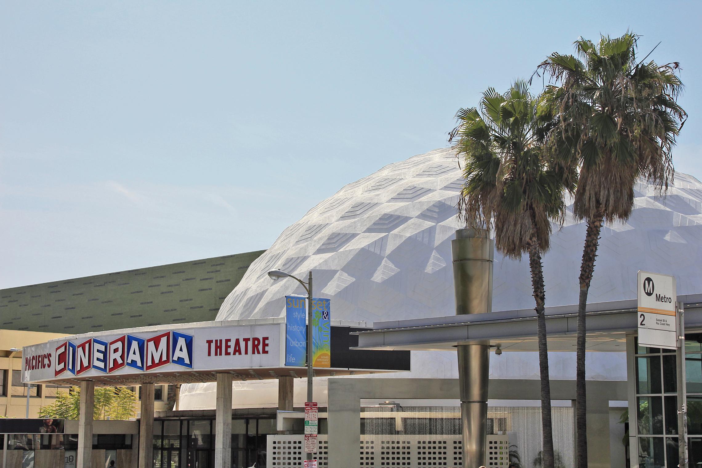Cinerama Dome - 1963   Pierre Cabrol of Welton Beckett Associates 1963