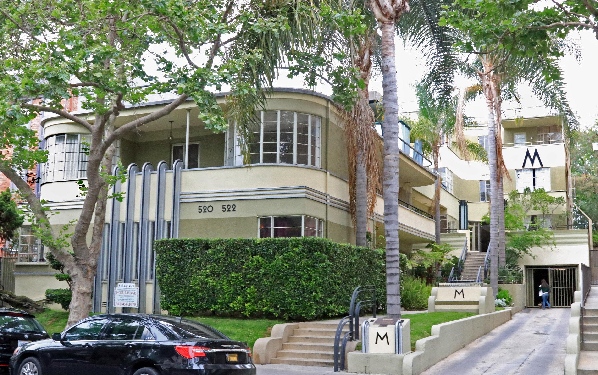 Mauretania Apartments    J. Milton Black - 1934