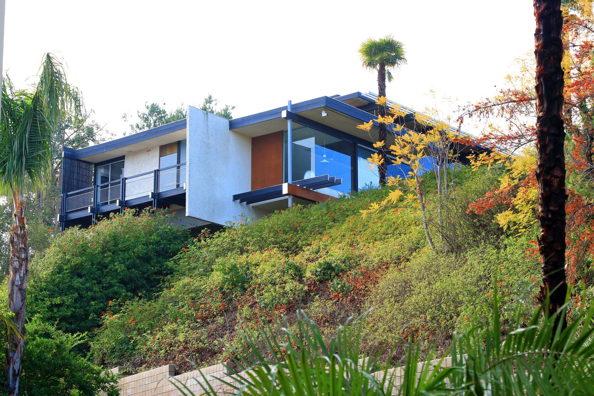 Scheimer Residence   Richard and Dion Neutra - 1972
