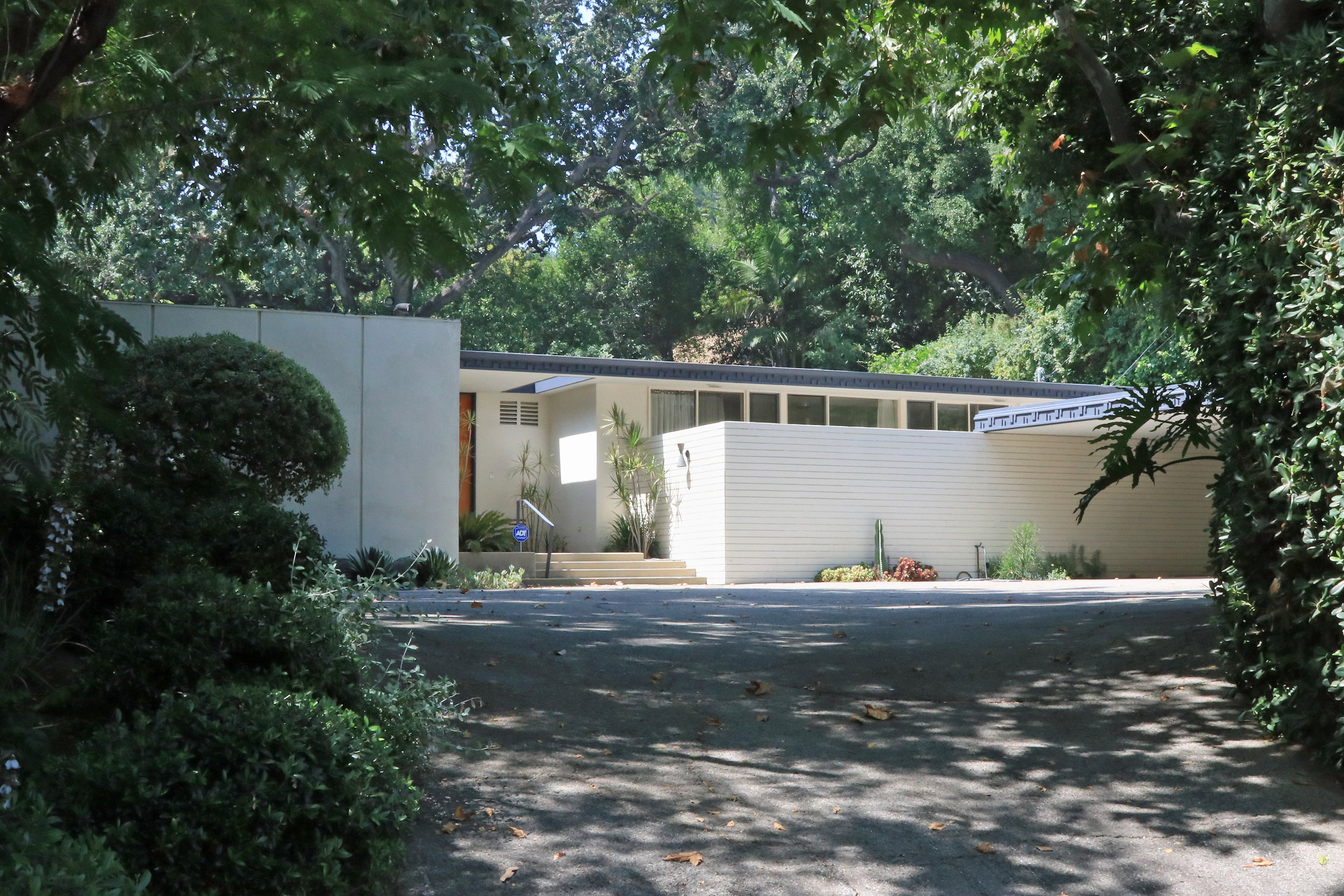Gattman Residence    Cliff Burlew - 1959