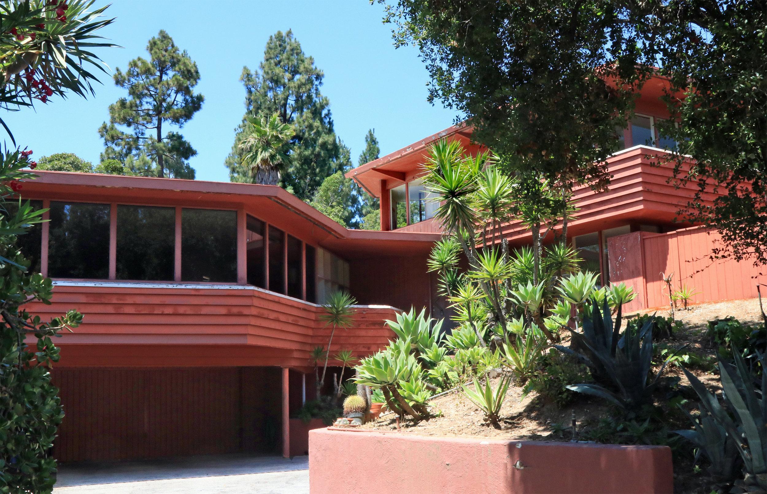 Nordlinger House   A. Quincy Jones - 1948
