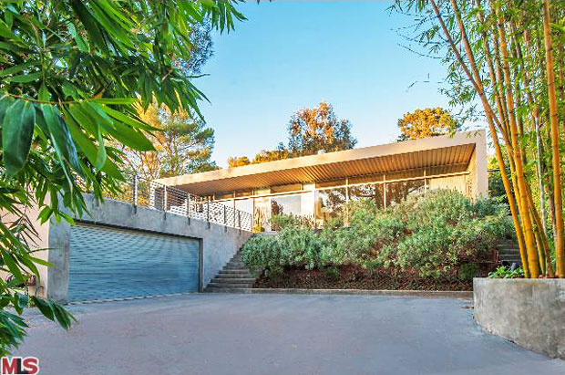 Thanks to its siting at the crest of a curved sloping driveway, the house rests above eye level creating a residence that offers a sense of complete seclusion. I'm certainly a lover of our architectural history, but without question I also love this home.
