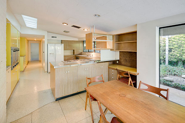 More amazing than the fact that the home has never been on the market before is the degree to which its original parts remain. Check out this kitchen. I bet it looks no different than it did when Eisenhower was in office.