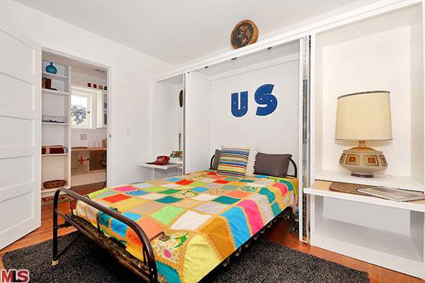 Yeah, that's an original Murphy bed.