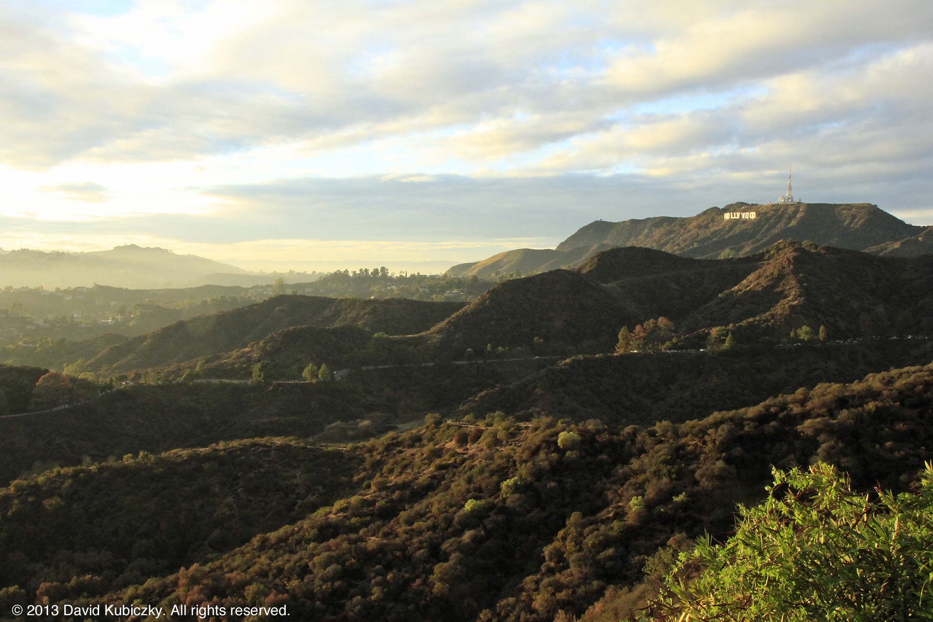 The Hollywood Hills - a promised land to many.