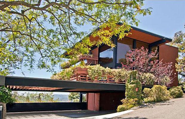 Frank House by Raul Garduno - 1249 N. Tigertail Rd, Los Angeles, CA 90049