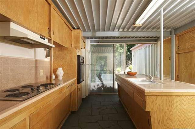 The kitchen could clearly use a little remodeling love. Hopefully the new owners find a way to update it while retaining the home's heritage.