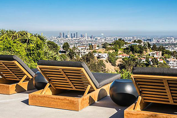 What a great place to sit and contemplate just how good life in LA really is.