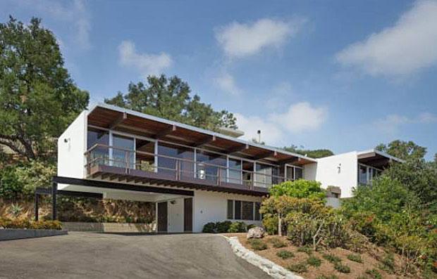 The Linn House by Richard Neutra - 1961. 7820 Mulholland Drive, Los Angeles, CA 90046