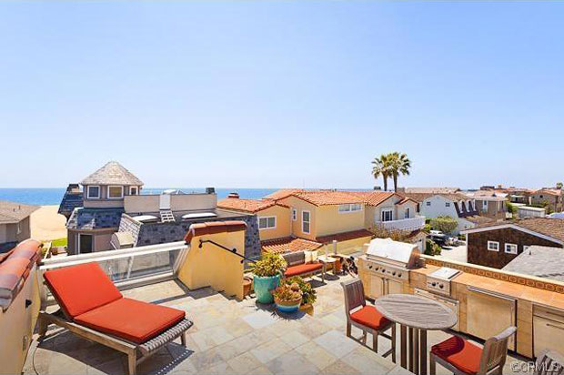 My favorite outdoor area is the roof, which includes two decks - one with views of the bay, hills and city lights to enjoy alongside a grand outdoor fireplace, while the other faces Catalina and sunset ocean views to enjoy with a full outdoor kitchen.