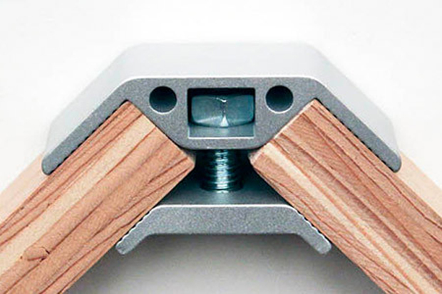 It's great for shelves, tables, boxes, carts and pretty much anything requiring a right-angle. There's no need to align every board and precisely drill and screw pieces together. And disassembly is also straightforward and simple with no worry of stripping the wood from repeated screwing in and out. For more information, visit the Ply Products website. http://www.plyproducts.com/