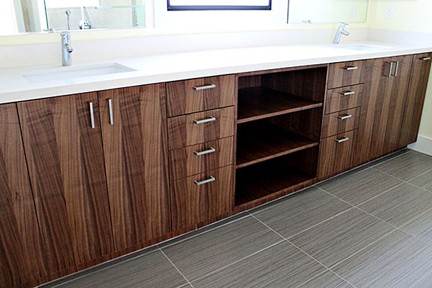 Unlike most cabinet manufacturers, Ikea lets you buy their cabinets with door and drawer faces. And finally price – with their products, Semihandmade says you can easily save 30-40% on the cost of a typical custom kitchen. http://www.semihandmadedoors.com