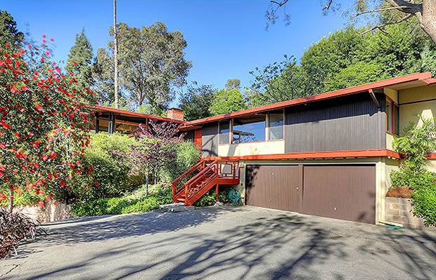 Set far back from the street on a hillside at the southwest end of the reservoir, the 3 BR / 2 BA home is situated on a lush 18,382 square lot gives this home a serene sense of privacy and seclusion.