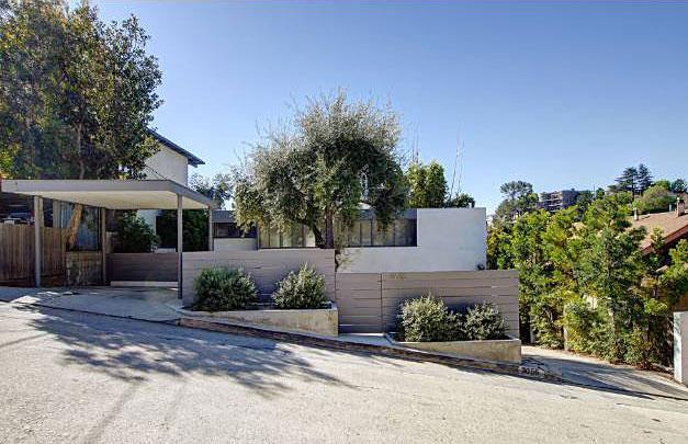 Austrian Spencer House by Raphael Soriano - 3056 Landa St, Los Angeles, CA 90039