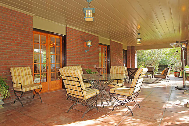 And what a beautiful veranda it is.