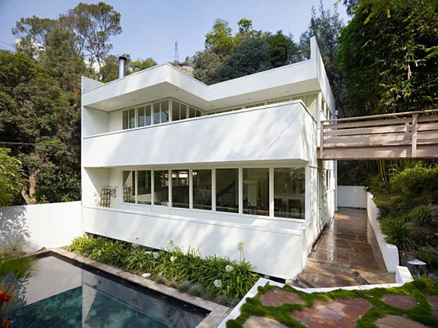 The Polito House by Raphael Soriano., 1940. 1650 Queens Road, Los Angeles, CA 90069
