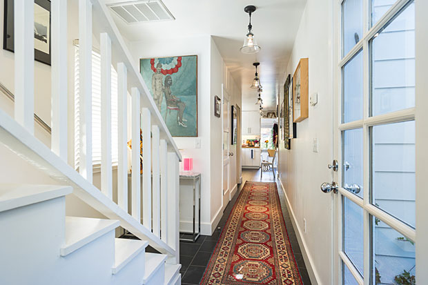 The home is absolutely chock-full of vintage style and contemporary finishes giving it a charm that is hard to beat.
