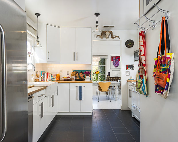 a European kitchen with vintage Wedgewood stove, and I would be thrilled.