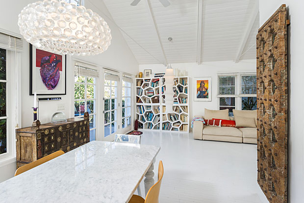 pitched ceilings, tons of natural light….