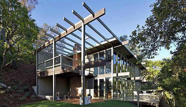 Thomson Residence - Buff, Straub & Hensman. 1695 Poppy Peak Dr, Pasadena, CA 91105