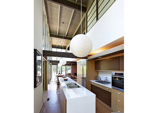 The 4 bedroom, 3 bathroom home was the Winner of the 2012 Preservation Award from the City of Pasadena for its museum-quality restoration during 2011-2012. The home also features expansive decks, patio and grassy yard, which provide the perfect California indoor/outdoor flow that made these architects famous.