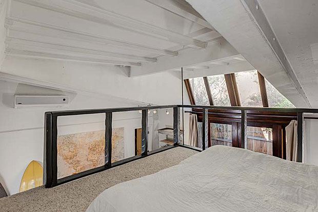 It may not be a spacious loft, but it's better than having your guests sleep on the sofa.