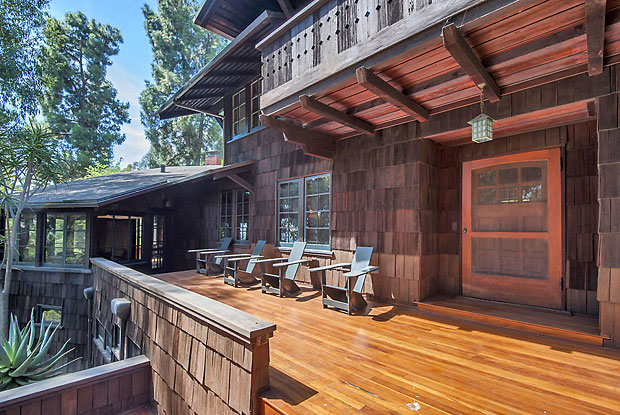 This 1909 Craftsman featuring 3 bedrooms and 3 baths is stunning. It and the cabin next door are worthy of being included on a tour by the Los Angeles Conservancy.