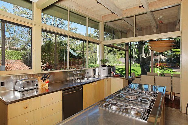 In 1992 the home was purchased by Phillipa Scott, a former architectural commissioner for Beverly Hills and a dedicated preservationist. During her ownership, the home was restored and renovated by acclaimed designer Barbara Barry and architect David Serruier, creating an addition to the house while maintaining Neutra's vision and style.