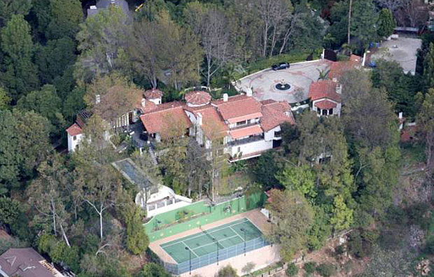Ryan Seacrest. 10,000 sf, 6 BR, 6.5 BA Mediterranean - 2809 Nichols Canyon Rd, Hollywood Hills – Selling Price: $11MM
