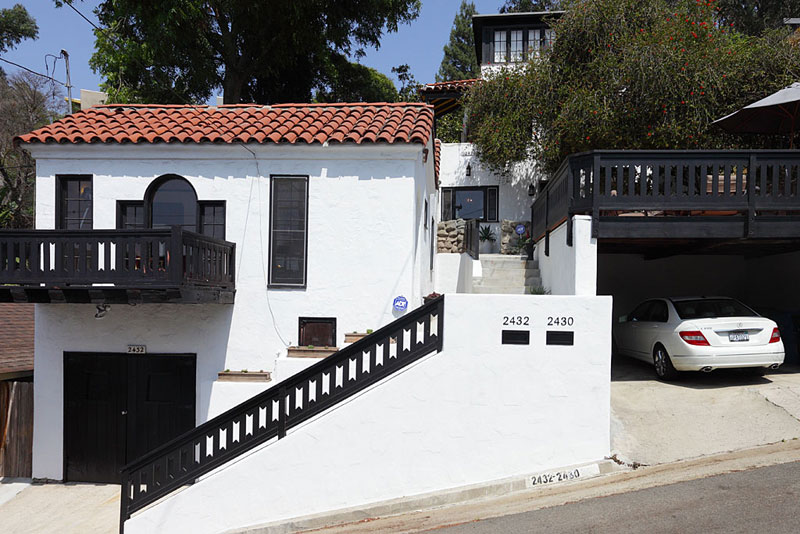 ames Franco. 1,496 sf, 2 BR / 2 BA Spanish – 2430 Hidalgo Ave, Silver Lake – Purchase Price: $775,000