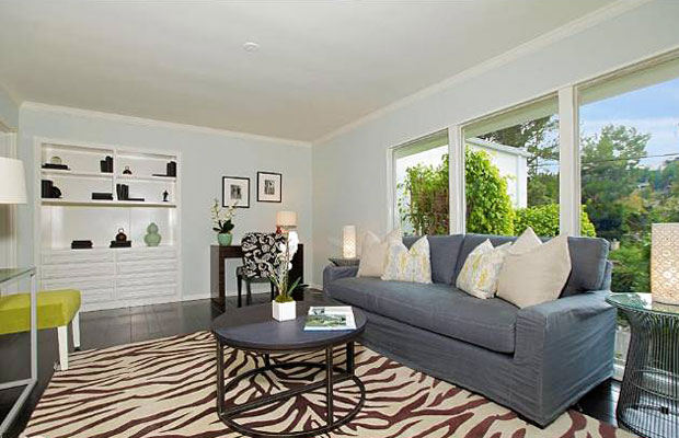 If 2 bedrooms are not enough for you, this generous den could easily serve as a third bedroom.