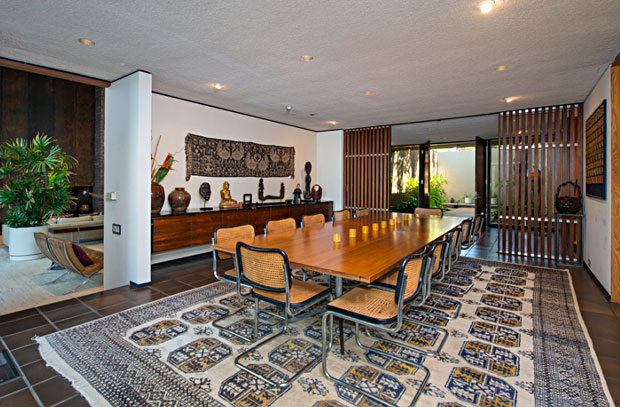 If you buy this place now, you could celebrate Thanksgiving with the entire family in this dining room, which will seat comfortably seat twelve.