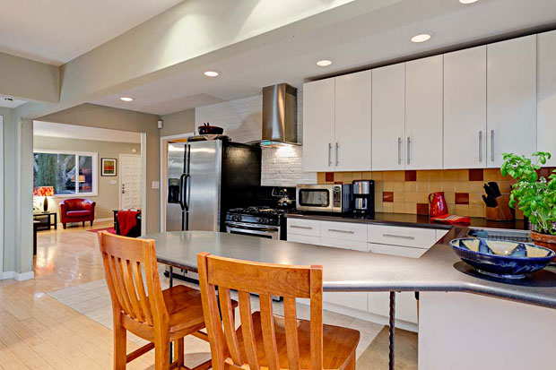 The layout is perfect for entertaining or relaxing, with a stylish up-to-date kitchen; a natural gathering spot for guests.