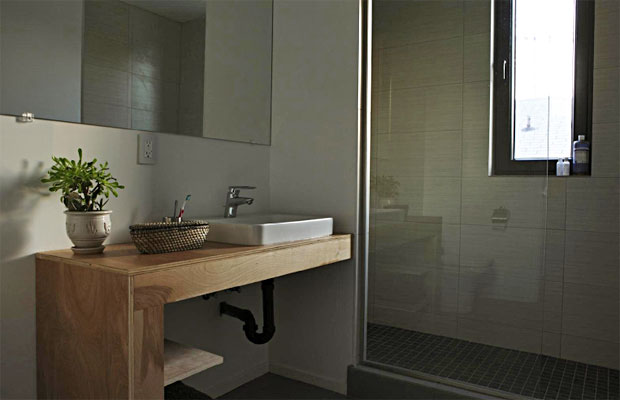 Included in the energy efficient elements of the home are a tankless water heater and custom energy efficient-windows.