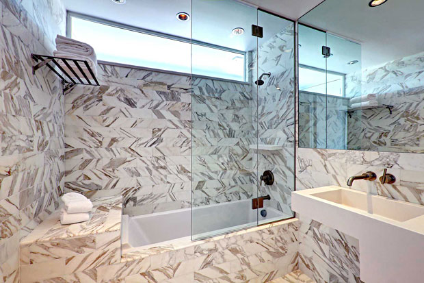 Quality finishes, though the bold style of the tiles may not appeal to everyone.