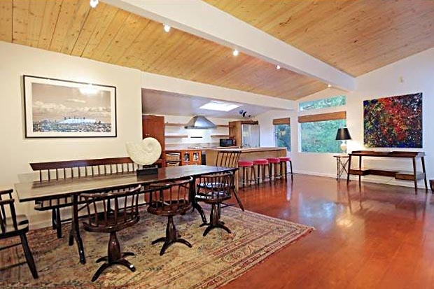 The cherry color of the hardwoods also lend to the home's enchanting character.