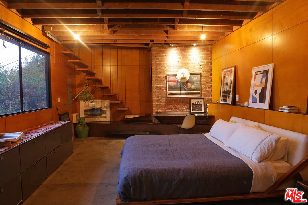 The home is listed as 1-bedroom/ 1-bath, but it also has an additional sleeping loft, which is great because guests are definitely going to want to spend the night here.