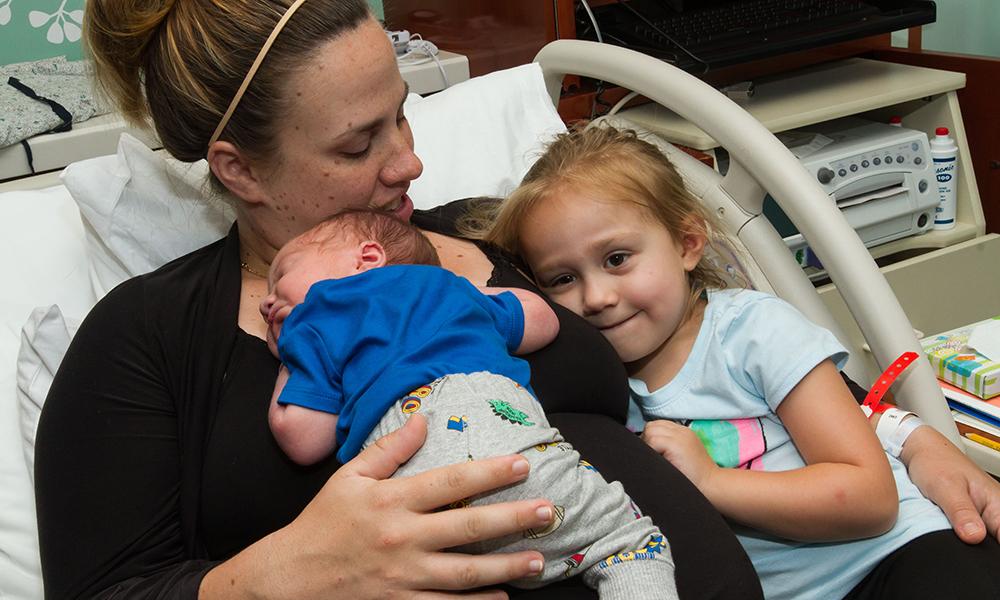 Patient Lindsay Van Dyke, of Danville