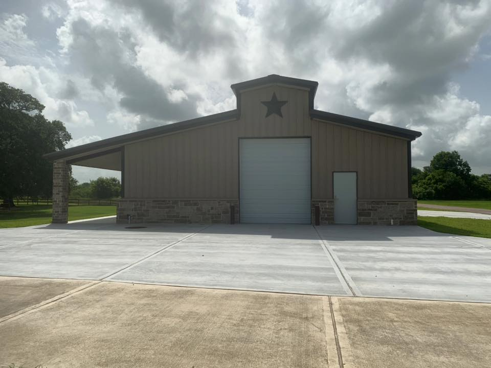 Design/Build Project - Barn in Rosharon, TX