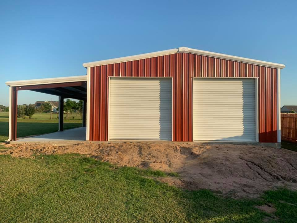 Garage in Sealy for RCOT Construction