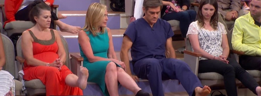 Dr. Suzanne Levine on the Dr. Oz Show